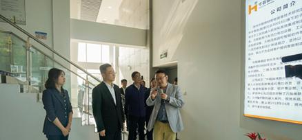 常州副市长、区委书记李林调研华数锦明 总经理申灿汇报1.3亿订单喜讯